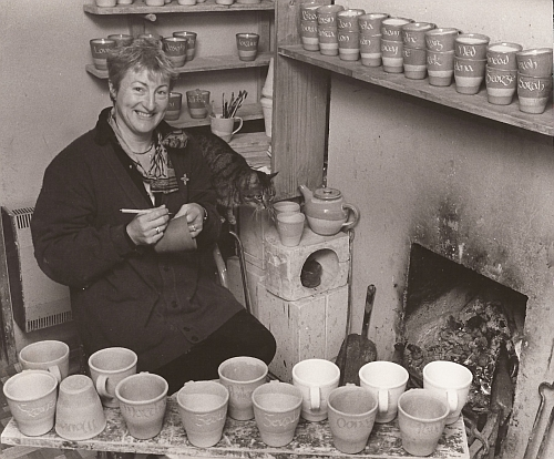 Penny Sheehy of Penny's Pottery